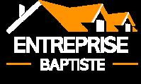 Logo Entreprise Baptiste blanc